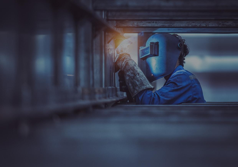soudeur travaux de maintenance industrielle