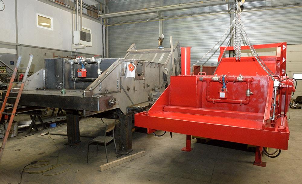 travaux neufs et modernisation en usine